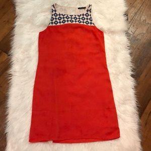 THML Women's Embroidered Sleeveless Dress